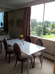 UBC/PT GREY -MAY 1 FULLY FURNISHED BRIGHT 1BR APT SPECTACULAR VIEW