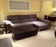 Sitting (in living area)