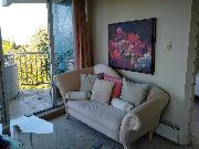 UBC/PT GREY MAR 1  FULLY FURNISHED BRIGHT 1BR APT SPECTACULAR VIEW