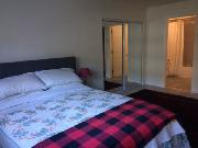 Huge Master with double closet & ensuite