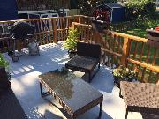 Rear Private Deck 13ft x 16ft