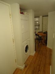 Hall with Washer, Dryer