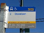 Bus line #3 to Dowwntown Vancouver