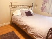 furnished bedroom with bedding / linens * rent April 1st