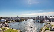 Your Unobstructed False Creek View From Inside Condo
