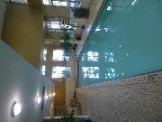 Pool there is also a sauna, hot tub and exercise room