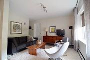 Mid century modern 2 bedroom furnished suite near UBC