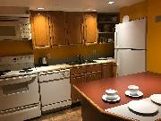 Fully equipped suite kitchen