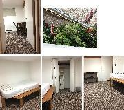 a furnished 2 bedroom-suite