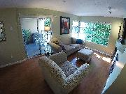 Fully Furnished One-Bedroom +Den Condo in perfect Kits location!